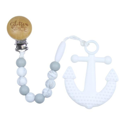 Teether with Clip, Anchor