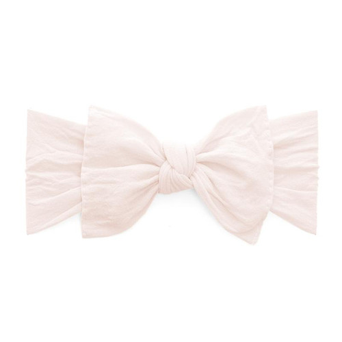 Knot Bow, Ballet Pink