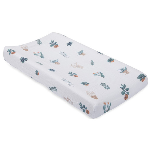 Muslin Changing Pad Cover, Prickle Pots