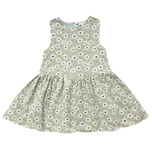 Rylee & Cru Floral Button Back Dress