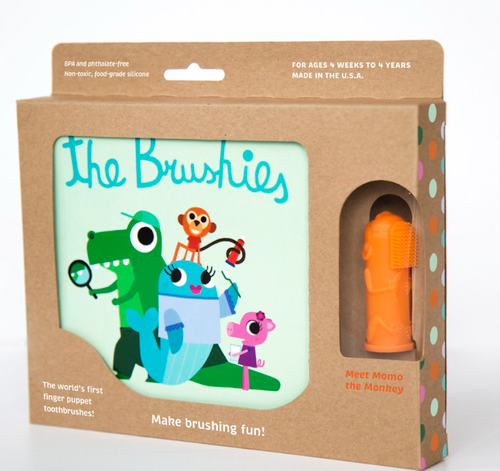 The Brushies Book with Momo Brushie