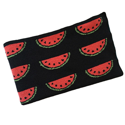 Eco Watermelon Baby Blanket, Black