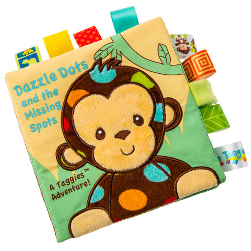 Taggies Monkey Soft Book