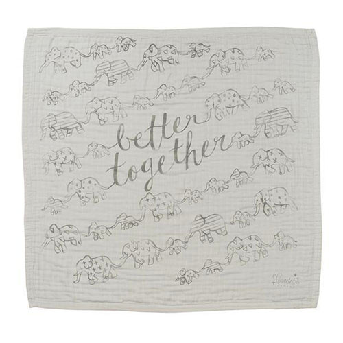 """Better Together"" Organic 4-Layer Luxury Blanket"