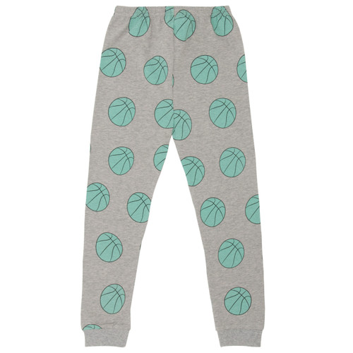 Basketball Leggings, Grey