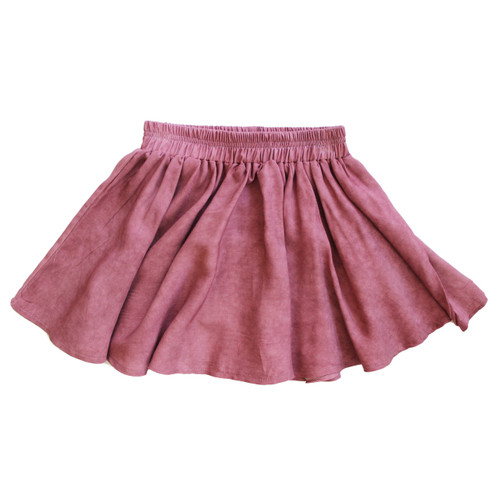 Twirl Skirt, Smokey Red
