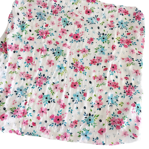 Luxe Muslin Swaddle, Spring Bloom