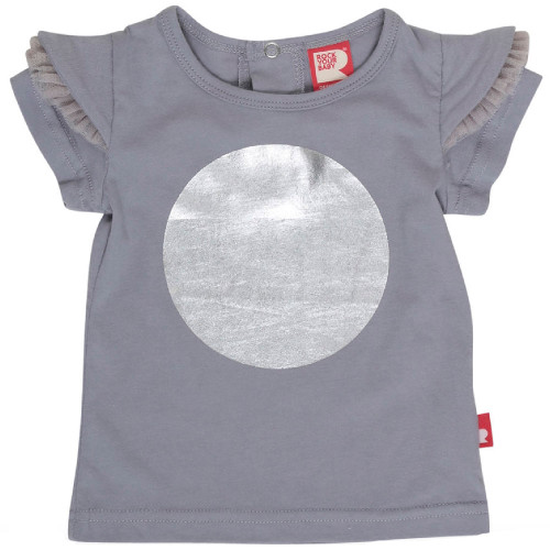 Rock Your Baby Silver Dot T-Shirt