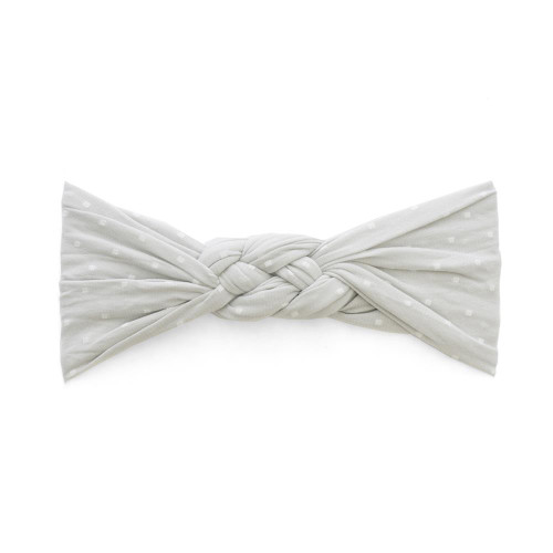 Sailor Knot Bow, Grey Dot