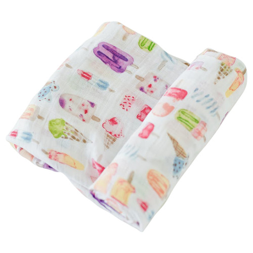 Muslin Swaddle, Brain Freeze