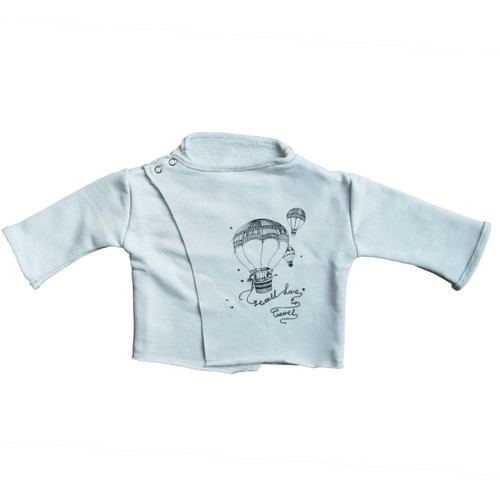 Organic Cotton Wrap Shirt, Hot Air Balloon