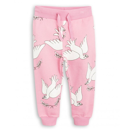 Mini Rodini Peace Sweatpant, Pink