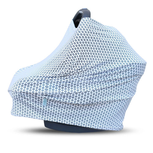 Covered Goods Multi Use Car Seat Cover, Indigo Geode