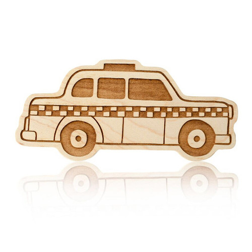 Taxi Organic Wood Teether