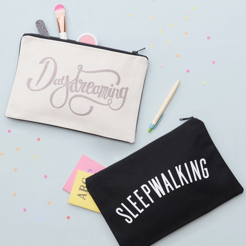 Daydreaming/Sleepwalking Canvas Pouch