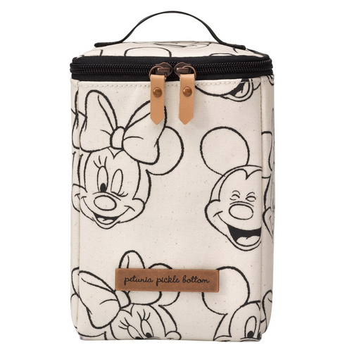 Petunia Pickle Bottom Cooler/Lunchbox, Mickey & Minnie