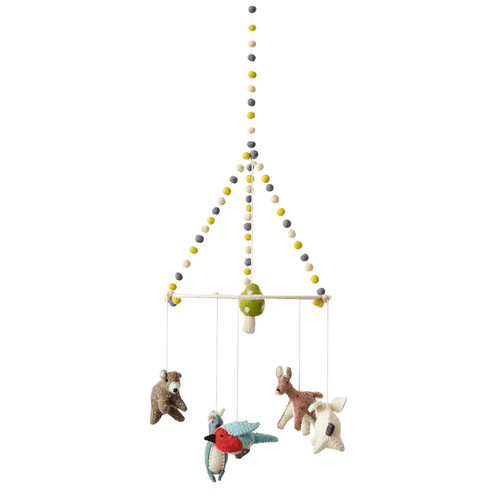 Woodland Creatures Mobile
