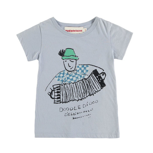Organic Cotton Accordian Tee