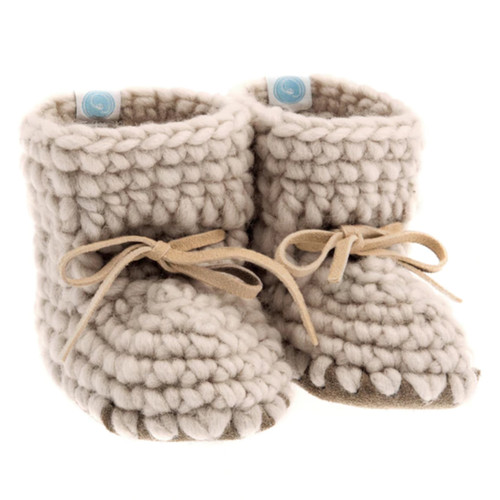 Sweater Moccasins, Oatmeal