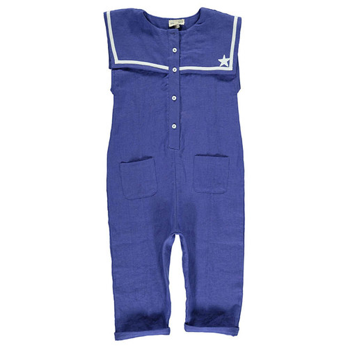 Sailor Jumpsuit, Blue