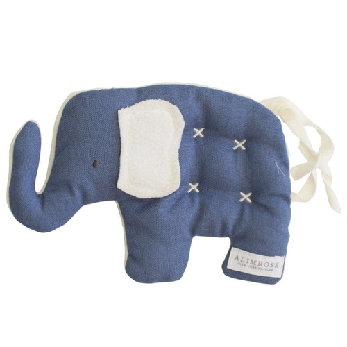 Elephant Security Toy, Chambray