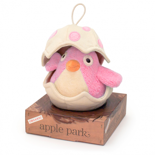 Musical Baby Birdy Pull Toy, Pink