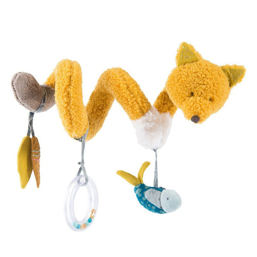 Fox Activity Spiral Stroller Toy