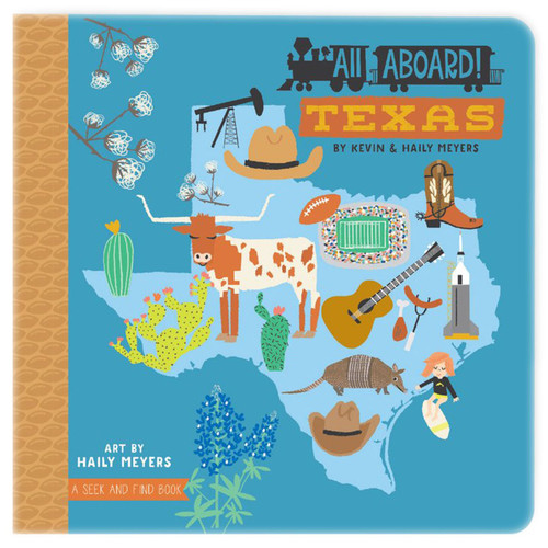 All Aboard Texas: A Seek and Find Book