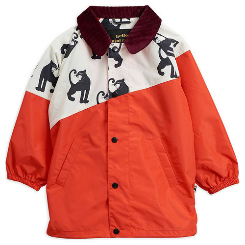 Mini Rodini Lightweight Coat, Red