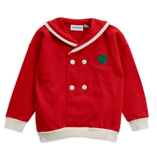 Mini Rodini Sailor Sweatshirt, Red