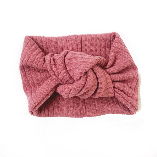 Twist Knot Headband, New Mauve