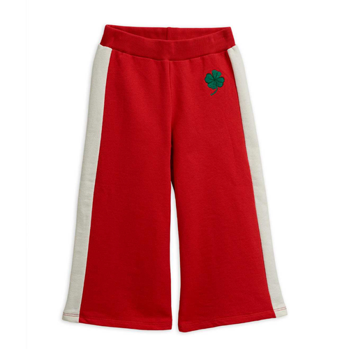 Mini Rodini Sailor Sweatpants, Red