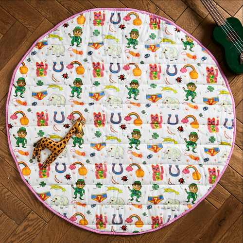 Quilted Play Mat, Lucky
