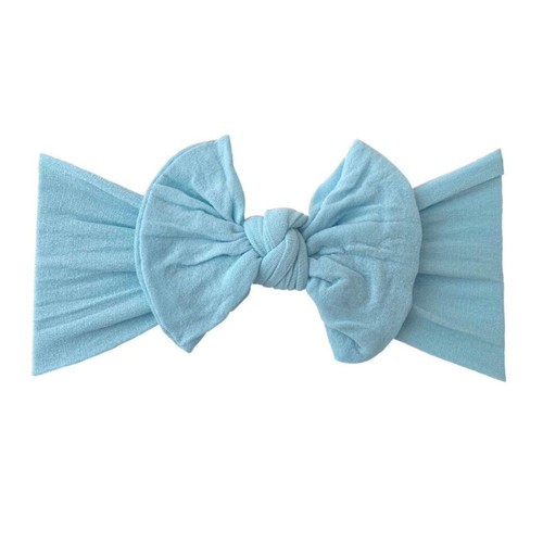 Classic Knot Bow, Dusty Blue