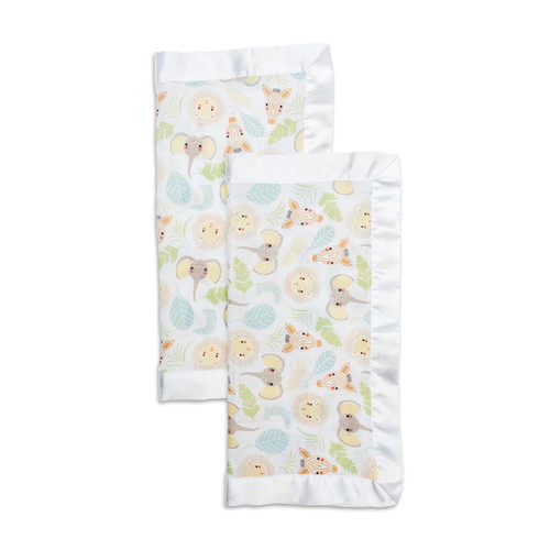 Security Blanket 2-pack, Jungle