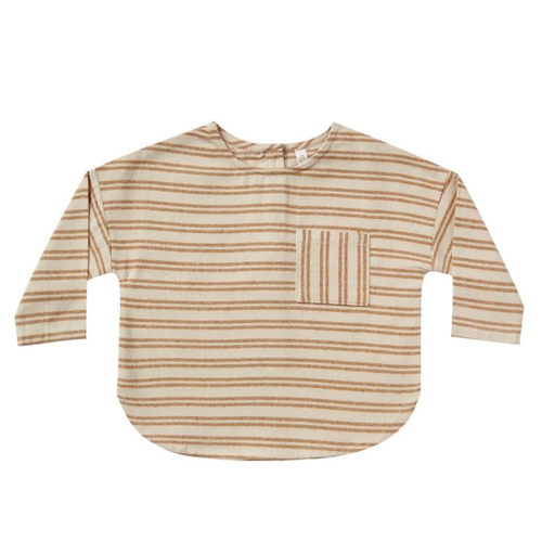 Rylee & Cru Jack Shirt, Cinnamon Striped