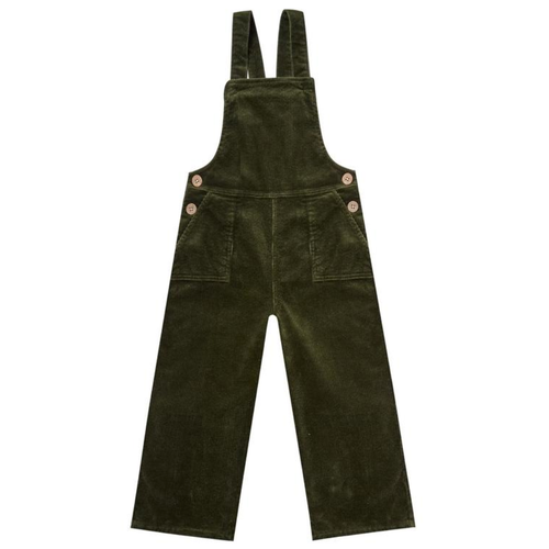 Rylee & Cru Wide Leg Overall, Forest