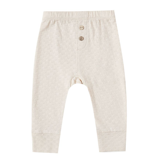 Pointelle Pant, Pebble