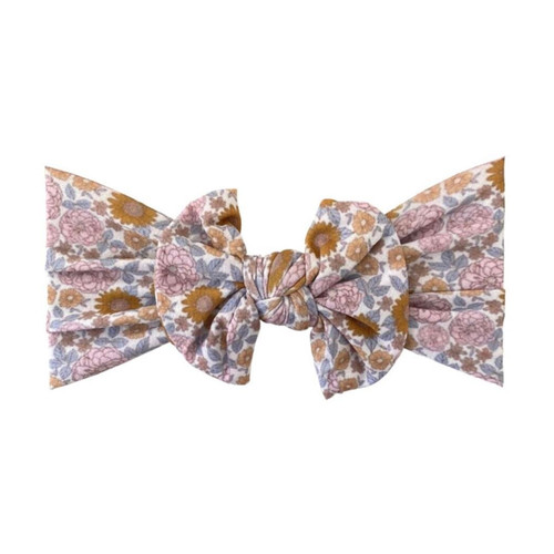 Classic Knot Bow, Vintage Floral