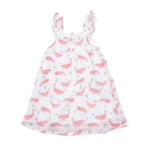 Sundress, Pink Whales