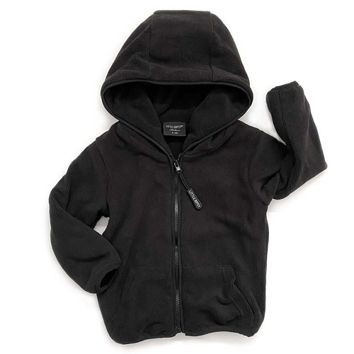 Fleece Jacket, Black