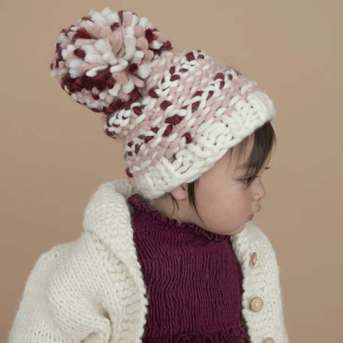 Valentine Plaid Hat, Blush