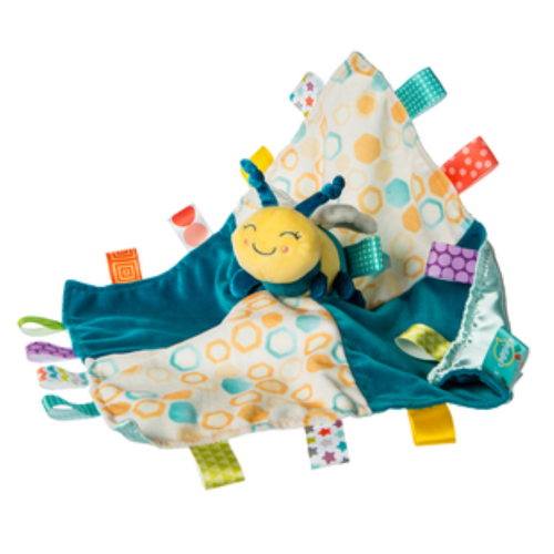 Taggies Fuzzy Bee Security Blanket