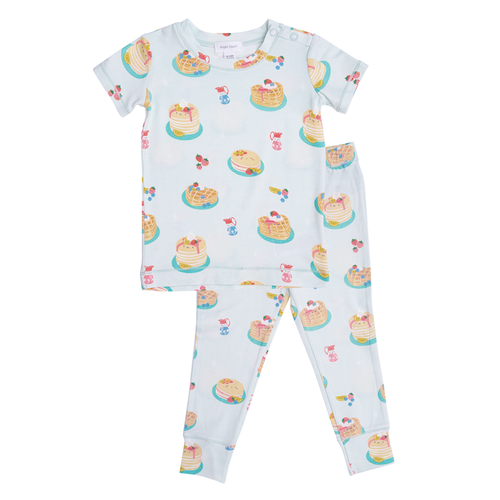 2-Piece Set Lounge Wear Set, Pancakes