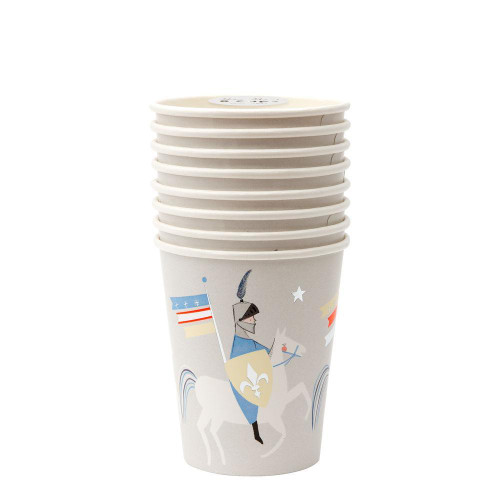 Paper Party Cups Set, Dragon Knights