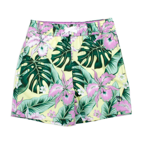 Swim Shorts, Tropical Oasis