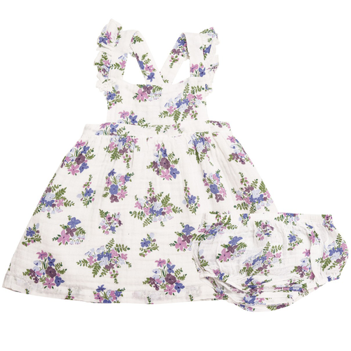 Pinafore & Bloomer Set, Lily of the Valley