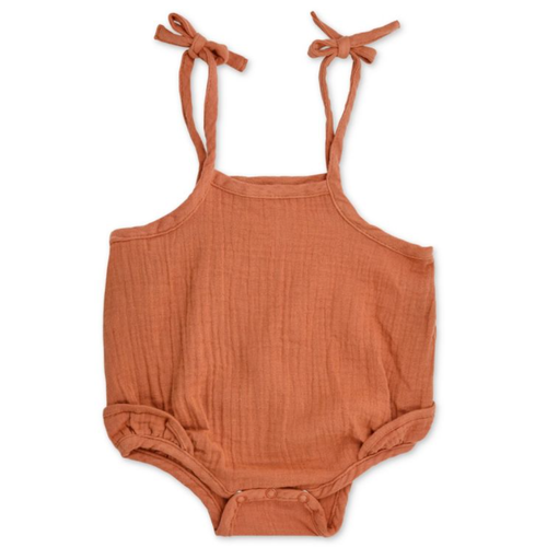 Ruffle Tie Bubble, Rust