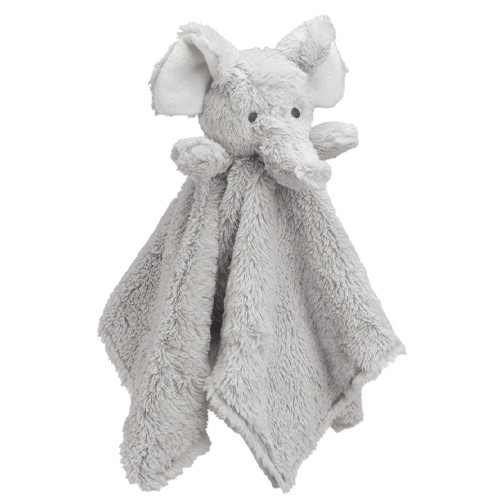 Light Grey Elephant Security Blanket