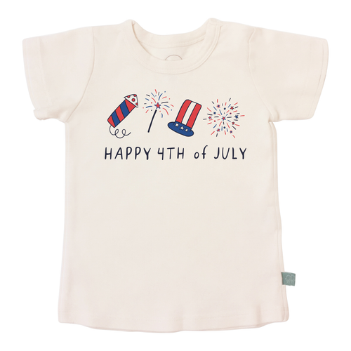 Graphic Tee, Happy 4th of July